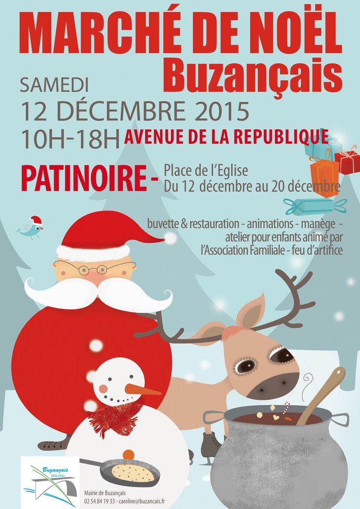 Marché de Noël de Buzançais, Buzançais, Avenue de la République, Samedi 12 Décembre 2015, 10h00 > 18h00