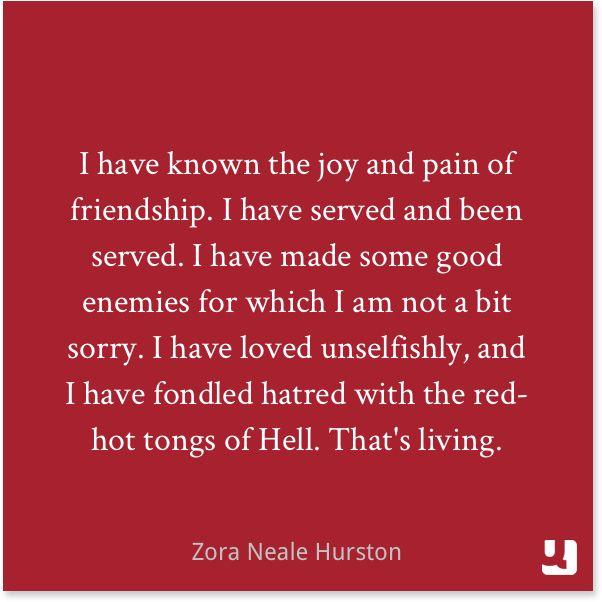 zora neale hurston sense self Zora neale hurston on racial identity, ninety years later by stephen boyanton commencement season at barnard college this year.