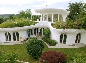 LARGE earthship home