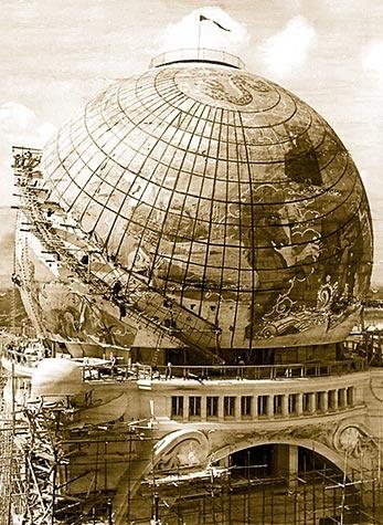 The Gigantic Globe, Paris Exposition Universelle 1900