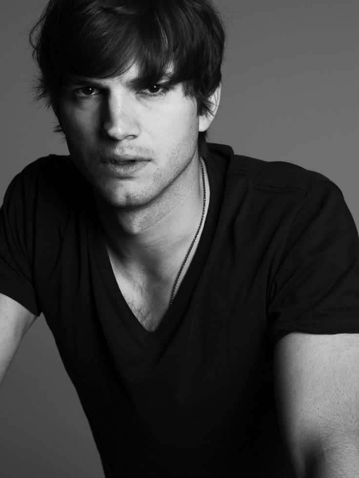 Ashton Kutcher by Mark Abrahams pinterest celebs