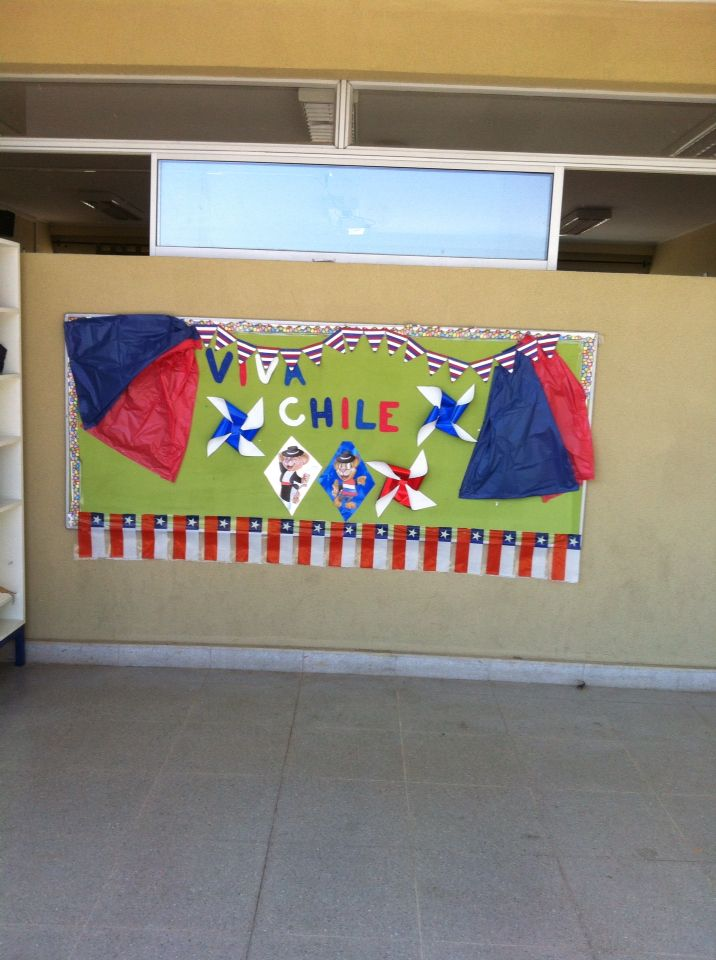 17 best images about chile on pinterest student centered for Diario mural fiestas patrias chile
