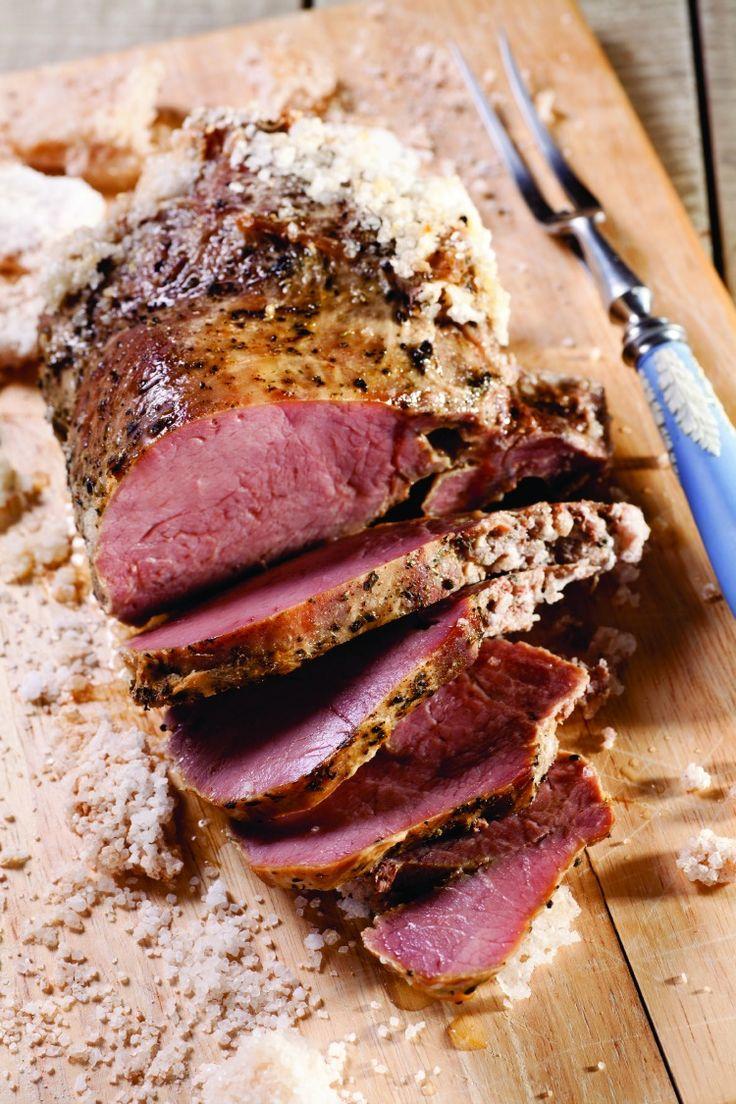 Herb-Roasted Beef in Salt Crust