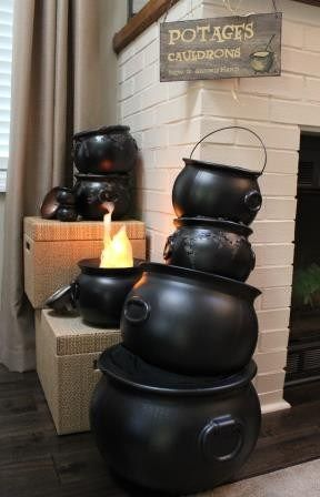 Harry Potter Party decorations - Potage's cauldron shop