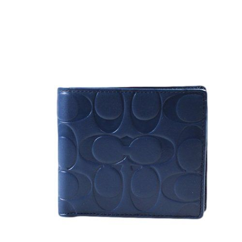 COACH Signature Embossed Men's Compact ID Passcase Wallet in Marine Blue 74686 Coach http://www.amazon.com/dp/B00IIWJC2Y/ref=cm_sw_r_pi_dp_EwwOtb0M9W5PNG0N