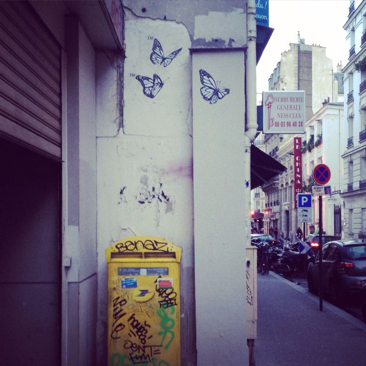 We sing of spring #parisstreetart