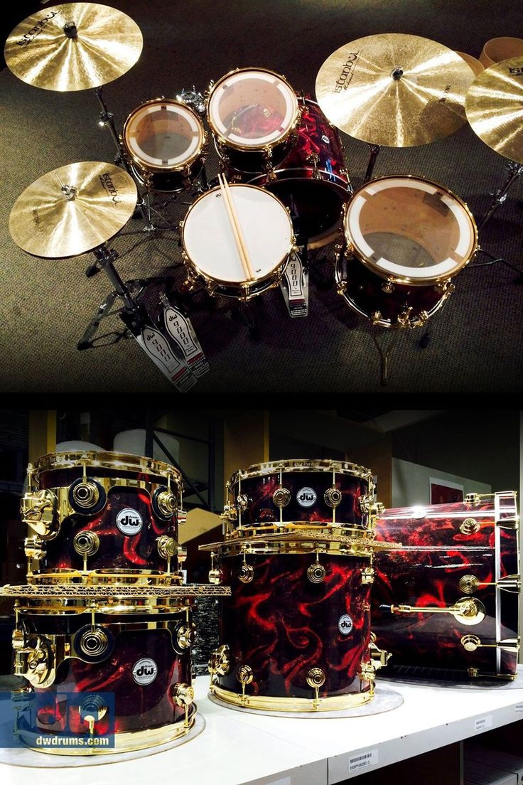 DW Drums -- All of their drums are just so amazing! It stinks that they are like super expensive :(