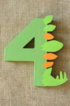 Dinosaur Party Decoration Dinosaur Birthday by LittleABCDesigns