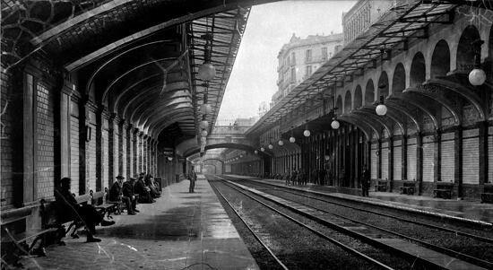 Estació de P.de Gracia.1915