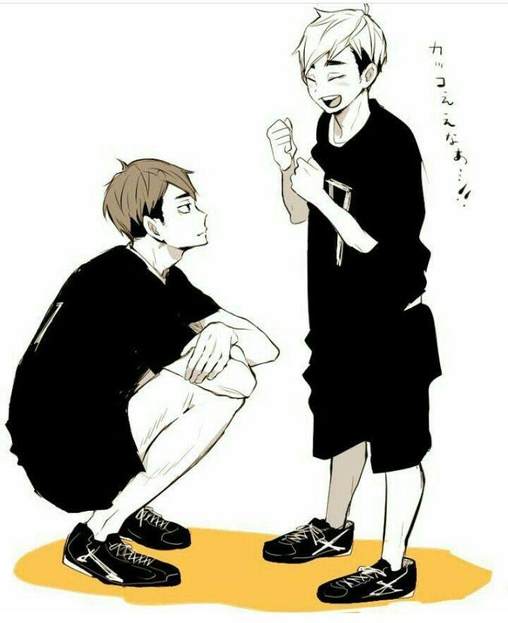 Haikyuu!! ❤ Miya Twins, 'Samu and 'Tsumu