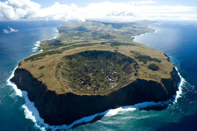 Isla de Pascua. Orongo.