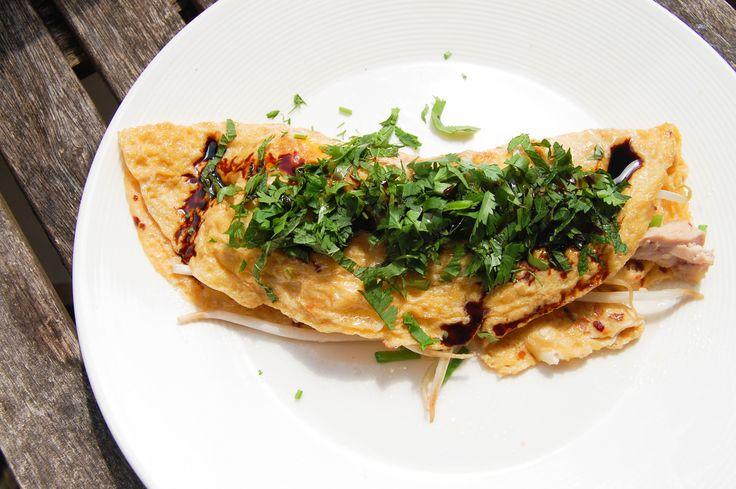 Aziatische Omelet met Kip van Donna Hay