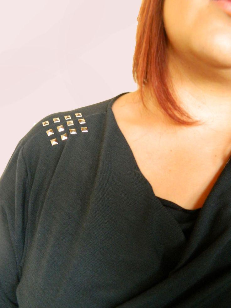 #detalle vestido drapeado #plussize