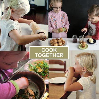 Cooking Together: 20 Simple Recipes for Kids to Make  @Spoonful