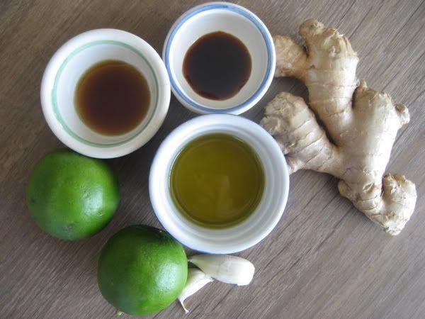 Ginger Lime Thai Dressing