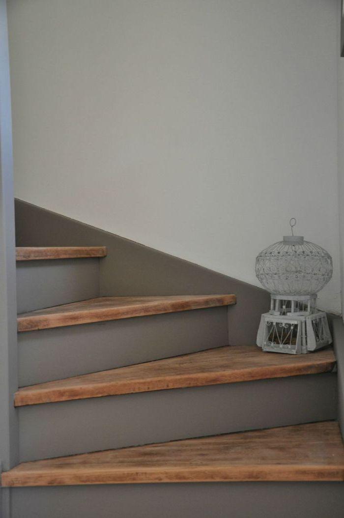 1001 Idees Et Conseils Pour Un Escalier Peint Relooke Renover Escalier Escalier Peint Idee Deco Escalier