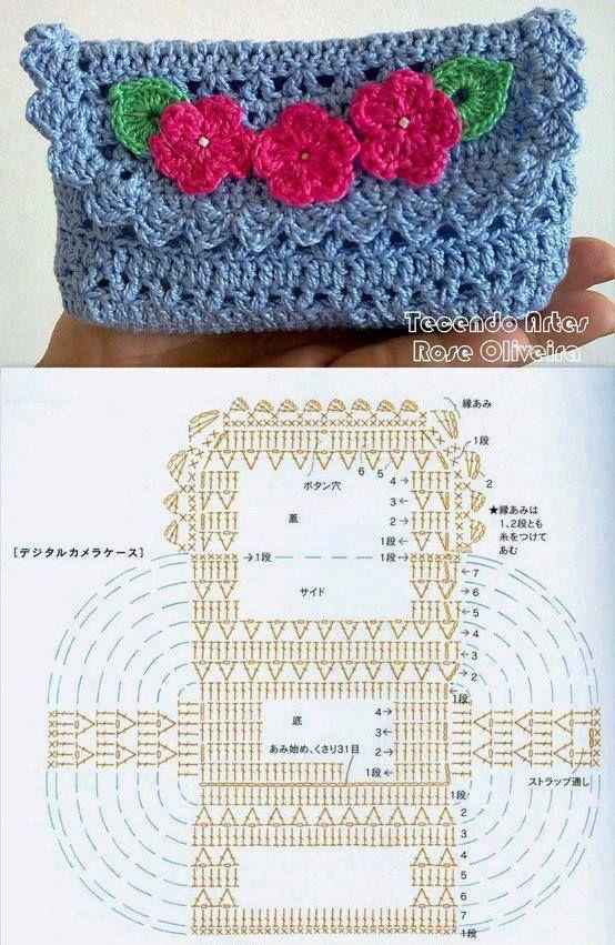 DIY Crochet Purse DIY Projects   UsefulDIY.com Follow Us on Facebook --> https://www.facebook.com/UsefulDiy