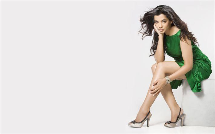 Download wallpapers Mugdha Godse, 4k, Bollywood, indian actress, brunette, photoshoot, beauty