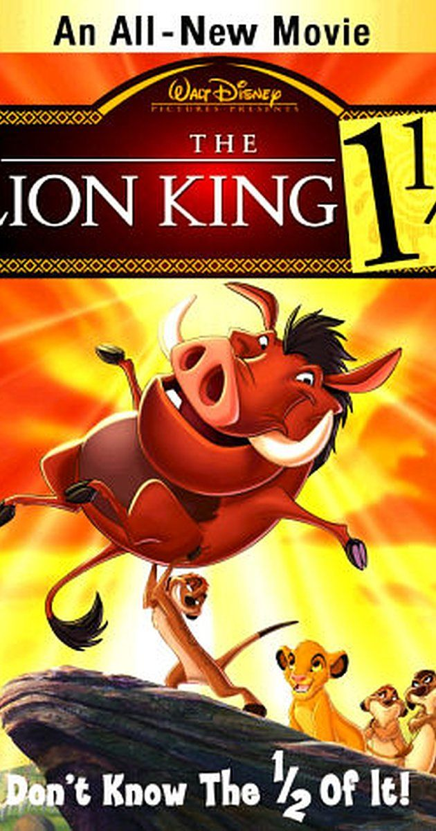 Directed by Bradley Raymond.  With Nathan Lane, Ernie Sabella, Julie Kavner, Jerry Stiller. Timon the meerkat and Pumbaa the warthog retell the story of The Lion King, from their own unique perspective.