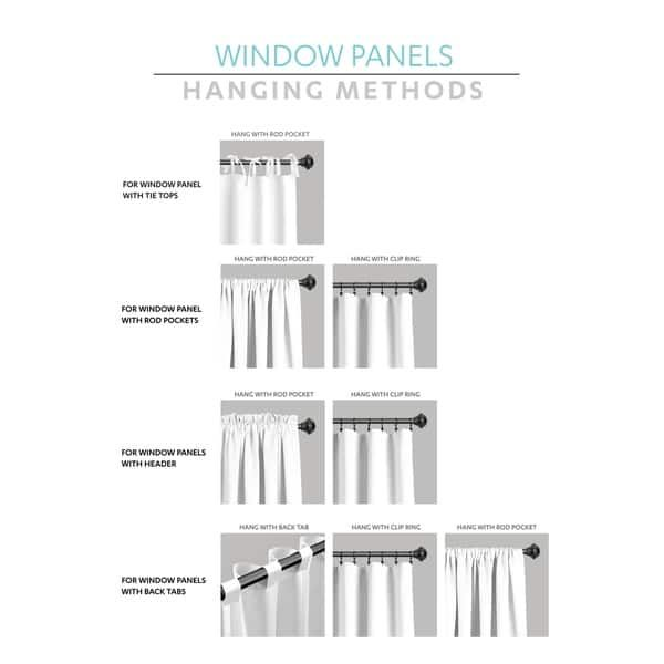 Overstock Com Online Shopping Bedding Furniture Electronics Jewelry Clothing More In 2020 Window Curtains Lush Decor White Paneling
