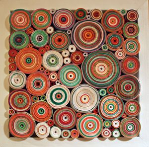Hadieh Shafie Rolled Paper Art ~ Picture