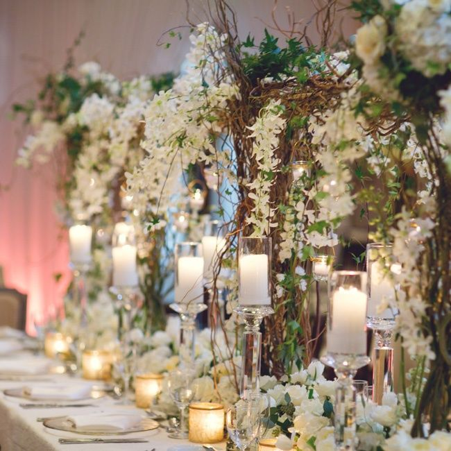 Unique Garden Wedding Ideas: 197 Best Images About Centerpieces On Pinterest