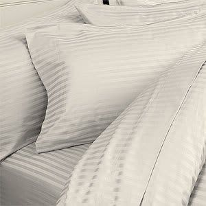"8PC ITALIAN 1500TC Egyptian Cotton DOWN ALTERNATIVE COMFORTER Bed in a Bag - Sheet , Duvet Queen Ivory St by Egyptian Cotton Factory Outlet Store. $249.99. Luxury 1500TC 100% DOWN ALTERNATIVE Comforter, 750fp, 50oz, Allergy free.. Beautiful Duvet Set : 1 Duvet Cover (90"" x 90"") and 2 Shams (20"" x 30""). 1 Flat Sheet (96"" x 104""), 1 Fitted Sheet (60"" x 80"") and 2 Standard Pillow Cases (20"" x 30""). This 8pc luxury bedding set is designed & crafted in ITALY.. ITALIAN 1500TC long-st..."