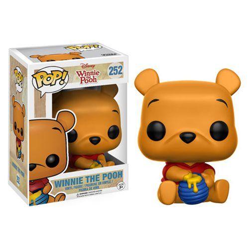 Winnie the Pooh Seated Pooh Pop! Vinyl Figure - Funko - Winnie the Pooh - Pop! Vinyl Figures at Entertainment Earth
