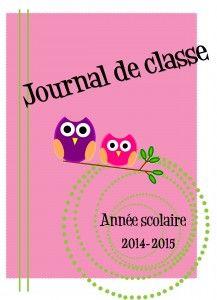 Journal de classe enseignant - Un monde meilleur