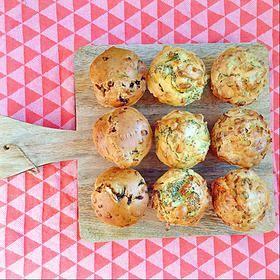 3 van 1 recept: Hartige muffins