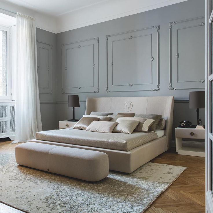 An other #new #bedroom in our #dreamhouse.. #Controlucehome by @albertafurniture 🇮🇹. The elegant relief cameo positioned on the headrest is an optional, and you can choose with or without.. #bedroom #interior #interiordesign #design #bed #night
