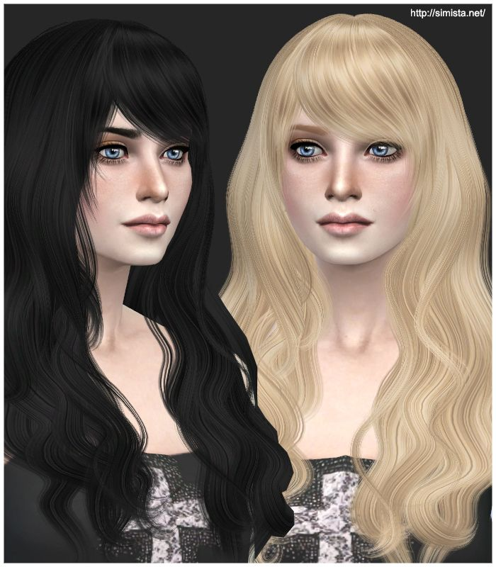 Emma's Simposium: Free Sims 4 Hair Pack #012 by Simista Gifted/ Dona...