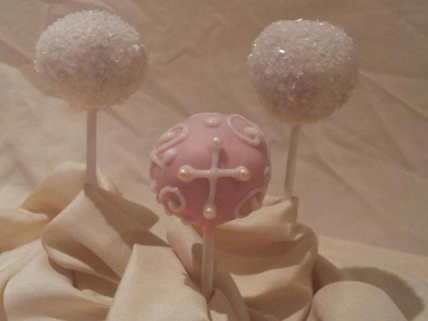 Baptism Cake Pops