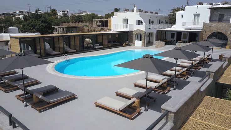 #poolarea #mymykonos #mymykonoshotel #luxury #boutiquehotel #hotel #designhotel #mykonos #bohostyle #bohemian #hip #stylish