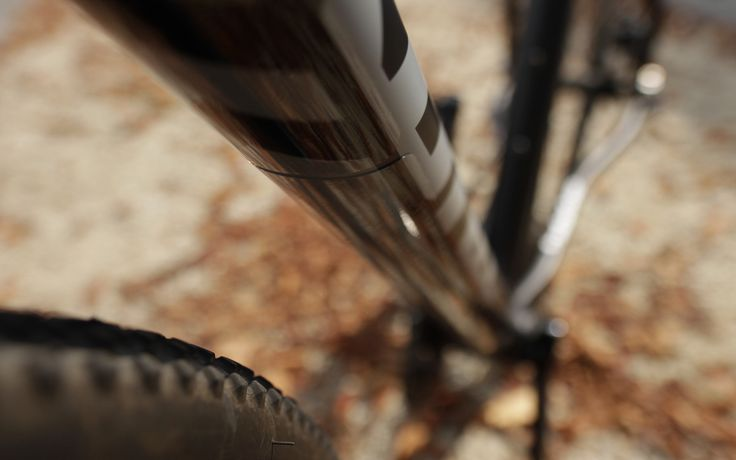 FLECTR GRAVEL GUARD - premium bicycle frame protection. Love your bike!