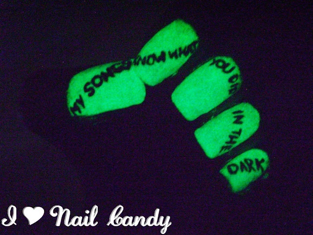 43 best nails images on pinterest dark nails nail designs and fall out boy my songs know what you did in the dark glow in the dark prinsesfo Gallery