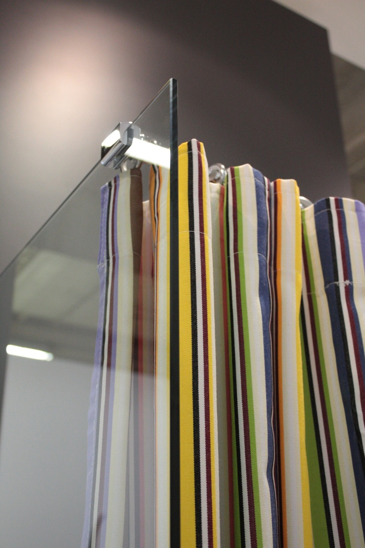 shower curtain by GAL _ design Missoni Home