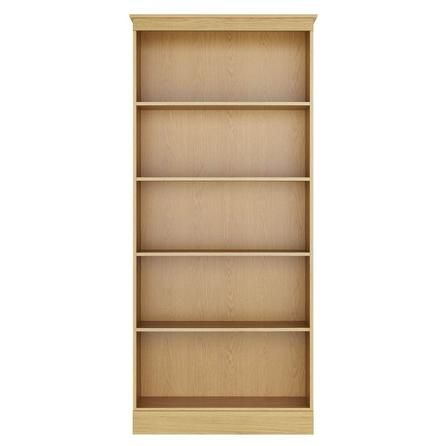 Ivory Light Oak Bookcase