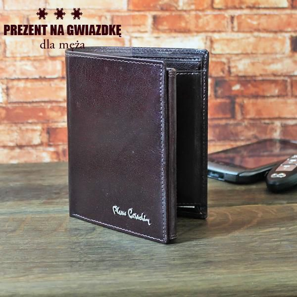 Praktyczny, doskonałej jakości portfel Pierre Cardin sprawdzi się jako podarunek dla męża.  http://bit.ly/1I14UGc