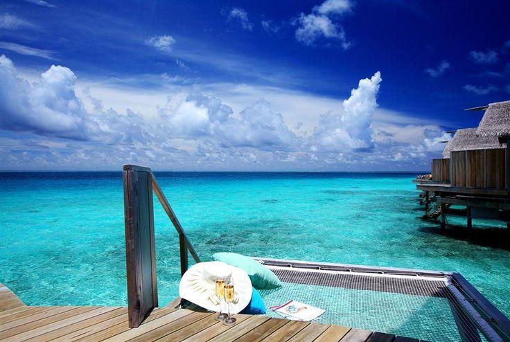 This is the life. Centara Ras Fushi Resort & Spa, #Maldives.