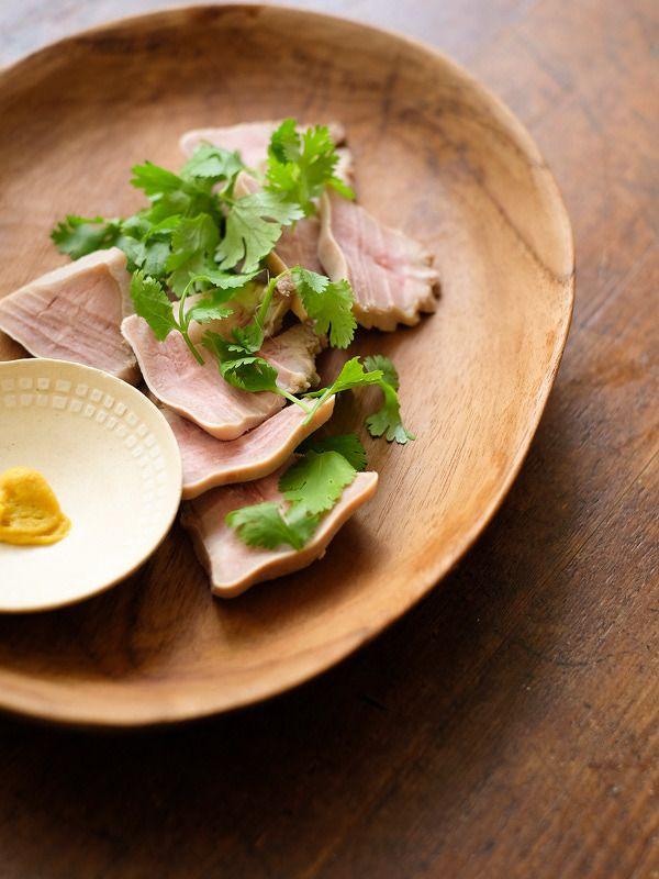 豚タンの粕漬け by 福岡拓 / 茹で上げた豚タンを酒粕、味噌同量の床に漬け込むだけ♪時間はかかるけど、カンタンで美味しいですよ。 / Nadia
