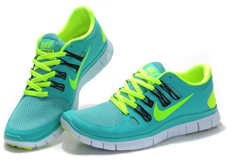 Sport Turquoise Nike Cheap Free Run 4 Mens Shoes Sneakers Volt White Black  580591373
