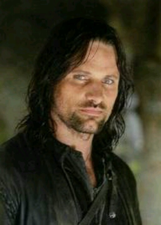 My movie husband! I'm a sucker for dirty rugged men! Aragorn (Viggo Mortensen is old enough to be my dad :/)