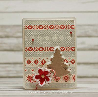 Scrapbooking Crafts: Christmas tree card :)