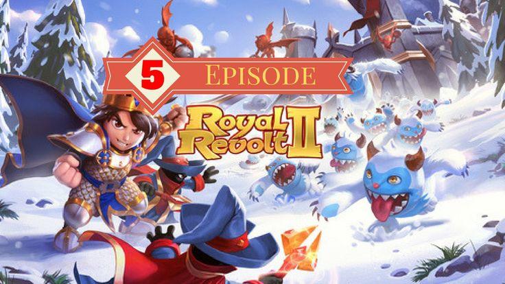 Royal Revolt 2[rating:4.5] GAMEPLAY (episode 5) Walkthrough | link on de...