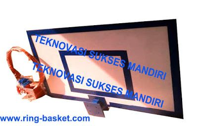 Ring Basket : Papan Pantul Basket - Fiberglass
