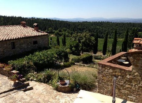 Bed and Breakfast Antico Podere Marciano #Chianti #Tuscany