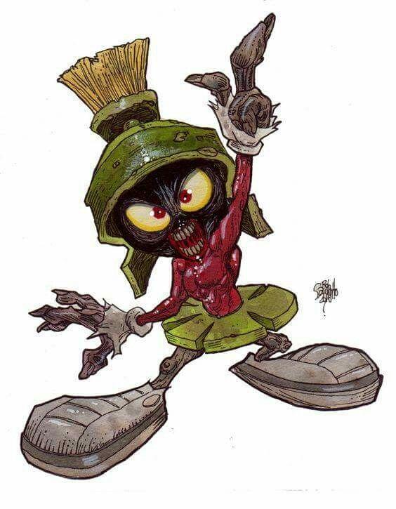 Marvin The Martian Halloween