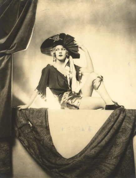 Lotte Lenya as Pirate Jenny in Brecht/Weill's Three Penny Opera. 1928