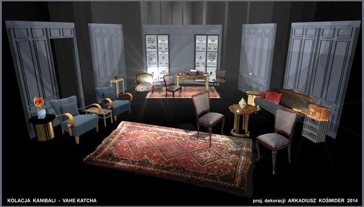Projekt/Set design : Arkadiusz Kośmider